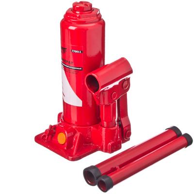 770-011 FALCO Домкрат гидравлический бутылочный 4 т, высота подъема 195-380мм