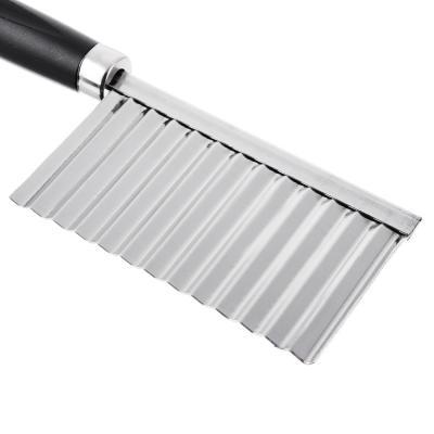 884-068 Нож-слайсер для фигурной нарезки, пластик, нерж.сталь, 19х6см