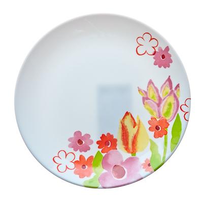 818-197 LUMINARC Dacha Тарелка десертная опаловое стекло 19см, H8669