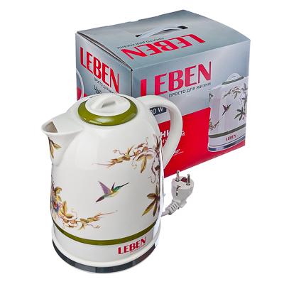 """Чайник керамический 1,7л, 1500Вт, скрытый нагр.элемент, """"Colibri"""""""