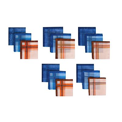 307-171 Набор носовых платков, мужские, хлопок, 28х28см, 3шт, арт.GL-2904-2