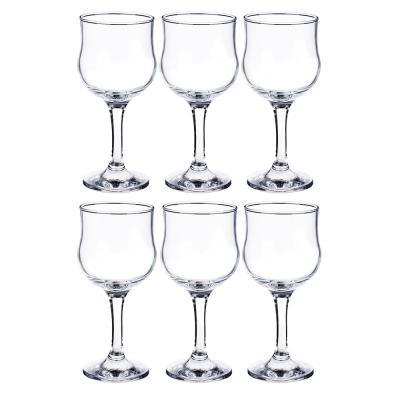 "878-058 PASABAHCE Набор фужеров 6шт для вина 200 мл, ""Tulipe"" 44167b"