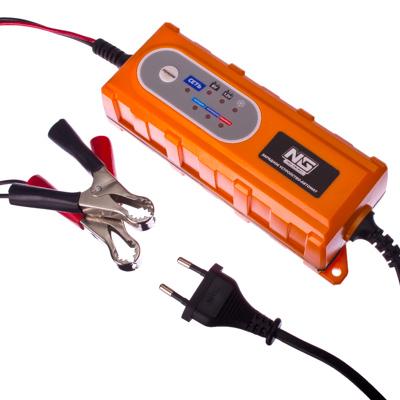 771-157 NEW GALAXY Зарядное устройство автоматическое (max 4A/12V), LED индикатор, влагозащищенное
