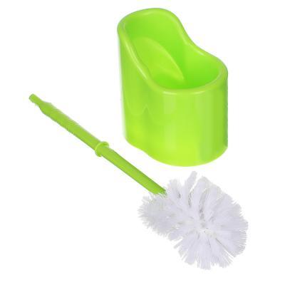 463-635 Ёрш для туалета с двойной щеткой, пластик, 37,5см