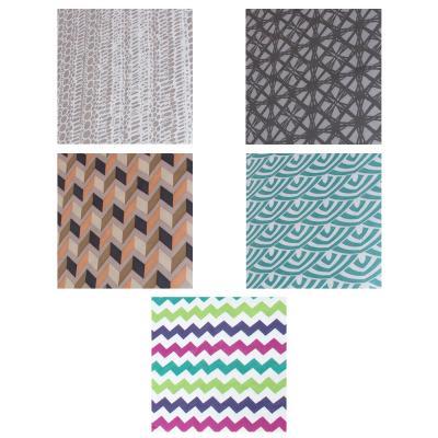 451-047 VETTA Чехол для гладильной доски на резинке, полиэстер, подкладка поролон, 130х50см, 5 дизайнов