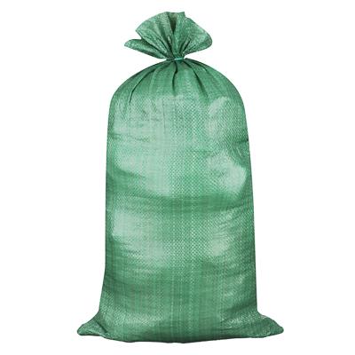 669-032 Мешок для строительного мусора полипропиленовый, зеленый, 95х55см