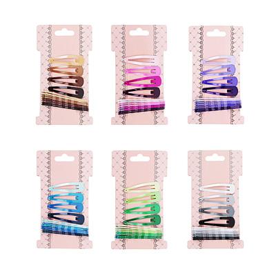 323-121 Набор заколок-невидимок для волос 12шт., металл, 4,5 см, 6 см, 6 цветов