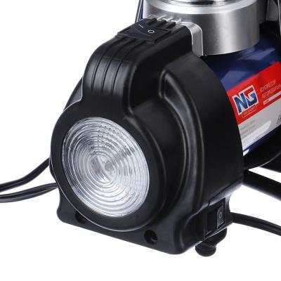 713-039 NEW GALAXY Optima Компрессор АС6220, 180вт, 50л/мин, c LED фонарем, в сумке, Omicron