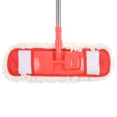 444-263 VETTA Швабра с насадкой из микрофибры, телескоп. черенок нерж.сталь 70-120см., арт. NP-1203