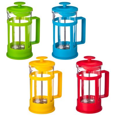 850-112 VETTA Клэр Френч-пресс пластик, 350мл, 4 цвета, B04S-350