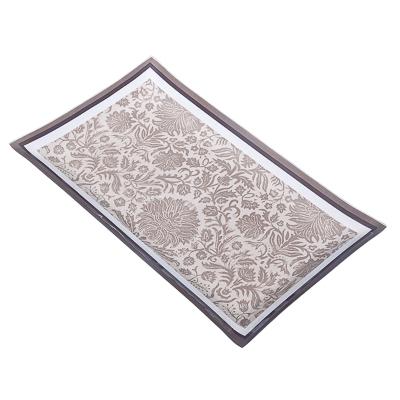 877-268 VETTA Винтаж Блюдо прямоугольное стекло, 28х16см, S3228N