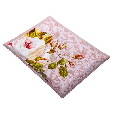 877-284 VETTA Нежные розы Блюдо прямоугольное стекло, 32х24см, S3232