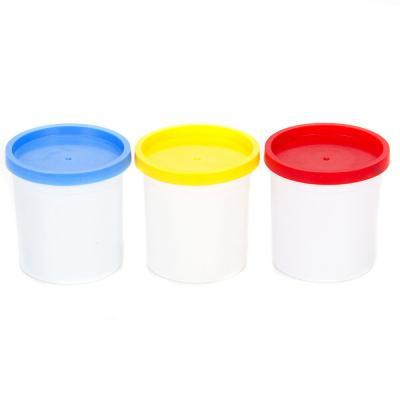 289-015 МЕШОК ПОДАРКОВ Набор теста на растительной основе 3 банки x 100г, 3 цвета
