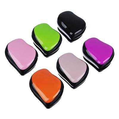 356-255 Расческа массажная профессиональная, пластик ABS, 9х7 см, 6 цветов