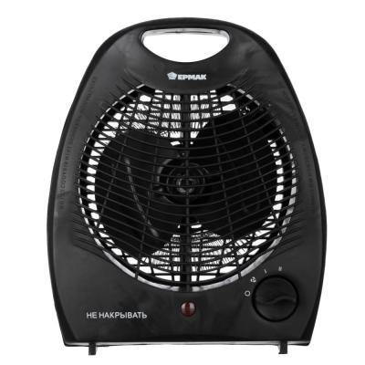 698-002 ЕРМАК Тепловентилятор ТВ-2000 (2 режима, 1000/2000Вт), термостат, защита от перегрева, индикатор вкл