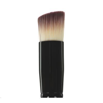357-047 Кисть для пудры ЮниLook,  ворс нейлон, 17,5 см, черная