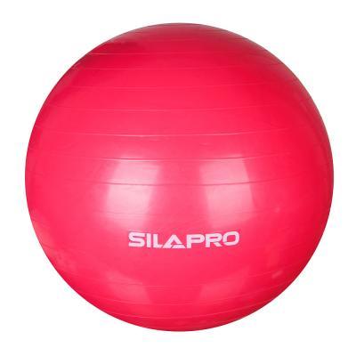 193-004 Мяч для фитнеса гимнастический, ПВХ, d75 см, 900 гр, 6 цветов, в коробке, SILAPRO