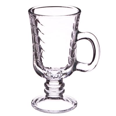 "879-045 PASABAHCE Набор кружек 2шт для кофе, на ножке, 215мл, ""Hawall"", 55381B"