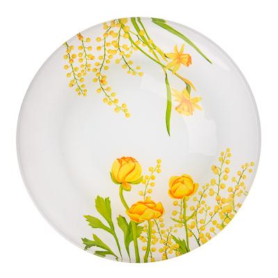 830-139 VETTA Весенние цветы Салатник стекло 17,8см, S302007