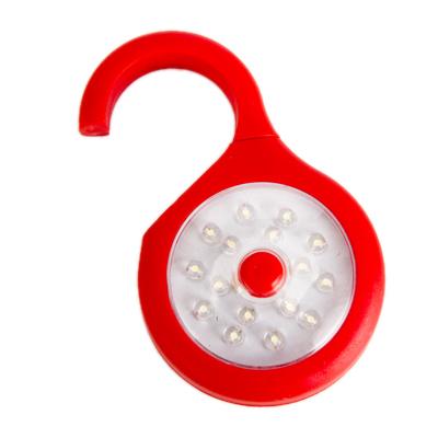 198-026 Фонарь-лампа пушлайт 16LED подвесной/магнитный, 3xAAA, пластик, 16х6см