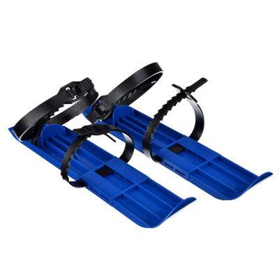 112-008 Мини-лыжи детские с пластиковыми ремешками, пластик, 7х36х1см