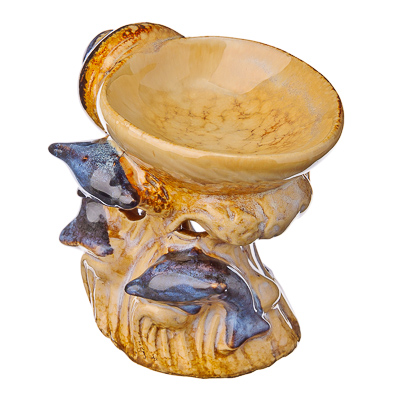 "536-193 Аромалампа ""Морские животные"" керамика, 11х10х10см, 2 дизайна"