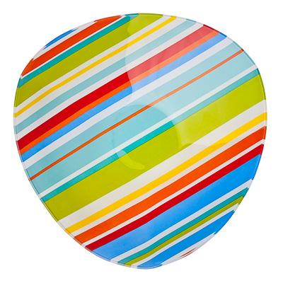830-171 VETTA Весна Салатник треугольный стекло, 25,4см, S332010 H209