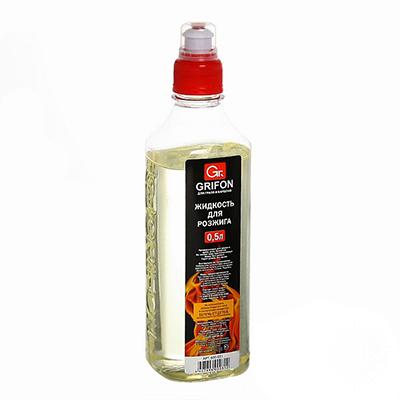 101-010 GRIFON Жидкость для розжига, 500мл, жидкий парафин, 600-031