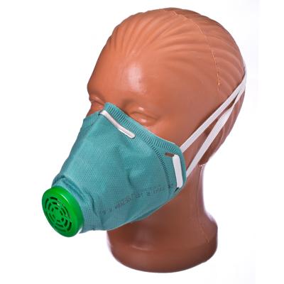 686-013 Респиратор У-2К, нетканый материал, зеленый