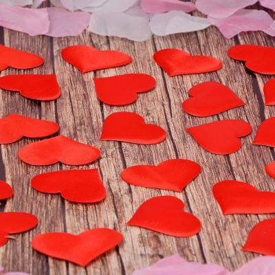 597-001 LA DECOR Сердечки декоративные, полиэстер, 25 шт, арт.0101