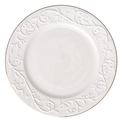 821-318 FARFALLE Гала Тарелка десертная 20см, упрочненный фарфор