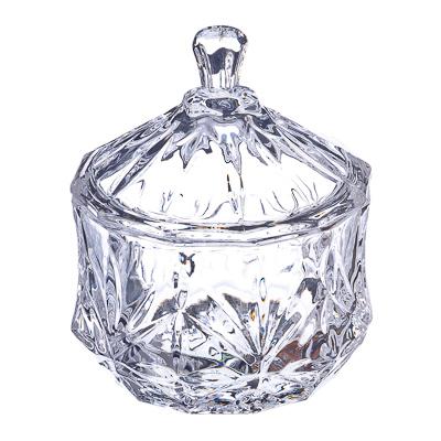 """877-327 Хрустальная мечта Конфетница с куполом """"Идиллия"""", 11х9,3см, стекло"""