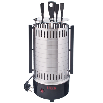 Шашлычница электр., 5 шампуров, 1000Вт