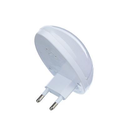 """417-019 Светильник-ночник 3 LED в розетку с выключателем, 5х9х6,5 см, 220В, 0,1 Вт, """"Капля"""""""