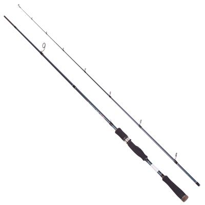 149-020 AZOR Спиннинг 90% карбон штекерный 2,4м, 3-12 гр