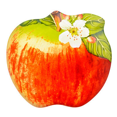 "877-343 VETTA Блюдо стекло, 20,3cм, ""Наливное яблоко"", M218"