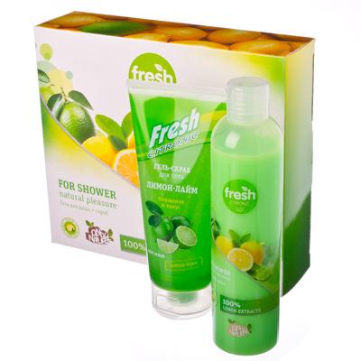 """313-193 Набор косметический для женщин """"Fresh Citronic Limon-Lime"""""""