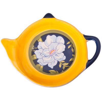 824-478 Южная ночь Подставка для чайных пакетиков, керамика