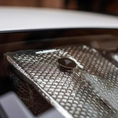 718-020 NG Шторка солнцезащитная на лобовое стекло, 145x70см, серебристая, 110035S