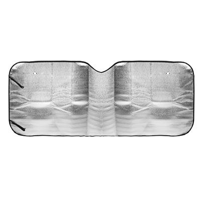 718-023 NEW GALAXY Шторка солнцезащитная на лобовое стекло, 130x60см, графитовая, 10033L