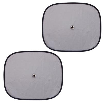 718-033 NEW GALAXY Комплект шторок 2шт. на боковое заднее стекло на присоске 44х36см, серые, 110052SL