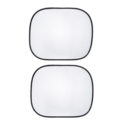 718-034 NEW GALAXY Комплект шторок 2шт. на боковое заднее стекло на присосках, 44x36см, черные