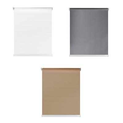 491-324 Штора рулонная цветная, полиэстер, 60х160см, 3 цвета