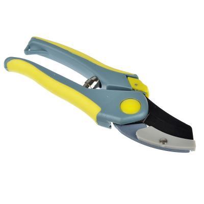 186-005 INBLOOM Секатор, сталь, пластик, двухкомпонентные ручки, 20,5см