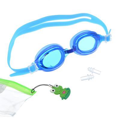 107-003 Набор для плавания: очки, брелок, затычки для ушей 2шт., пластик, ПВХ