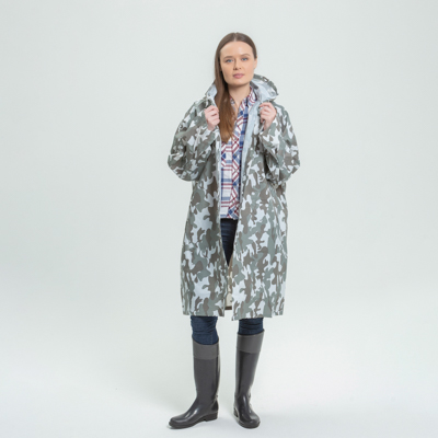 188-002 Дождевик-плащ, ЭВА, 80 мкр., 100х70 см, INBLOOM