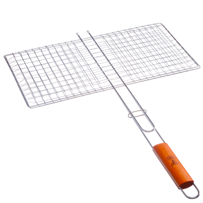 104-015 Решетка-гриль хромированная 64х(45х22) см, GRILLBOOM
