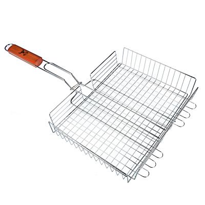 104-026 Решетка-гриль хромированная 58х(33х25х5) см, GRILLBOOM