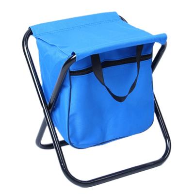 121-013 ЧИНГИСХАН Стул складной с изотермической сумкой 27х32х28см, сталь d16мм, oxford 600D, СНО-114-4