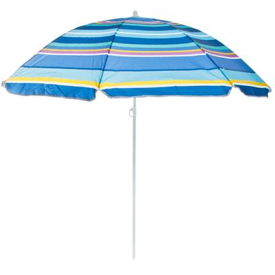 121-016 Зонт пляжный, 210D полиэстер, d=155см, h=180см, 19/22мм стойка